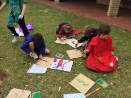 Year 3 Graffiti Art with Ricky Gibson